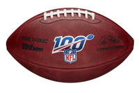 Chase Winovich Autographed Wilson NFL 100 The Duke Football (Pre-Order)