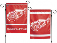 "Detroit Red Wings Wincraft 2-Sided Garden Flag 12.5"" x 18"""