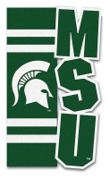 Michigan State University Team Sports America 23.5'' x 44'' Sculpted House Flag