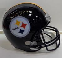 Devin Bush, Jr. Autographed Pittsburgh Steelers Replica Helmet