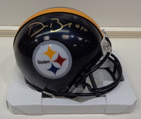 Devin Bush, Jr. Autographed Pittsburgh Steelers Mini Helmet