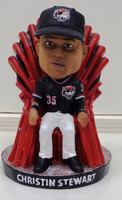 "Christin Stewart Erie SeaWolves ""Home Run King"" Limited Edition Bobblehead"