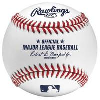 Jake Rogers Autographed Baseball - Official Major League Ball (Pre-Order)