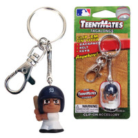 Detroit Tigers Party Animal TeenyMate Tagalong Keychain
