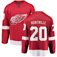Luc Robitaille Autographed Detroit Red Wings Fanatics Jersey - Red (Pre-Order)