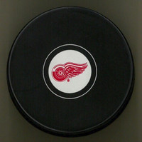 Mike Vernon Autographed Detroit Red Wings Souvenir Puck (Pre-Order)