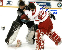 Mike Vernon Autographed 16x20 Photo #1 - Roy Fight  (Pre-Order)