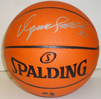 Dominique Wilkins Autographed Basketball - Spalding I/O
