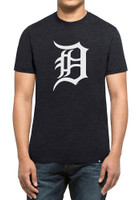 Detroit Tigers Men's 47 Brand Navy Blue Club Short Sleeve T Shirt