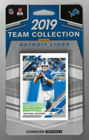 Detroit Lions Panini Donruss 2019 Team Card Collection