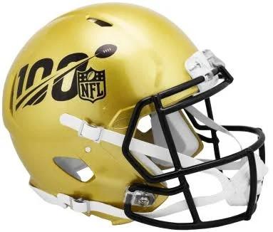 694e8f18 Riddell Mini Speed 100th Anniversary NFL Helmet