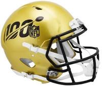 Matthew Stafford Autographed Riddell Mini Speed 100th Anniversary NFL Helmet (Pre-Order)