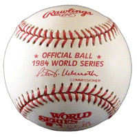 Lance Parrish Autographed Baseball - Official 1984 World Series Ball (Pre-Order)