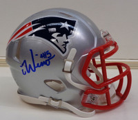 Chase Winovich Autographed New England Patriots Mini Helmet