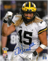 Chase Winovich Autographed 8x10 Photo #1 - Road Jersey Vertical