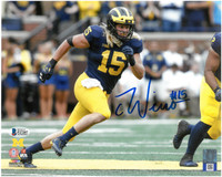 Chase Winovich Autographed 8x10 Photo #2 - Home Jersey Horizontal