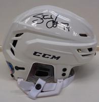 Steve Yzerman Autographed Full Size CCM Hockey Helmet - White