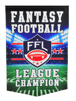Fantasy Football League Champion Banner