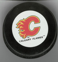 Mike Vernon Autographed Calgary Game Puck #3 (Pre-Order)