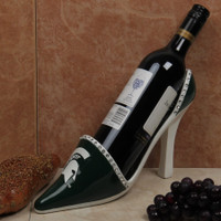 Michigan State University Evergreen Enterprises High Heel Shoe Bottle Holder - Green