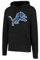 Detroit Lions Men's 47 Brand Headline Black Hoodie