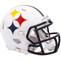 Pittsburgh Steelers Riddell AMP Alternate Revolution Speed Mini Football Helmet