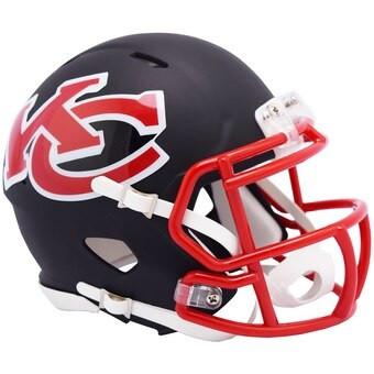 Kansas City Chiefs Riddell Amp Alternate Revolution Speed Mini Football Helmet Detroit City Sports