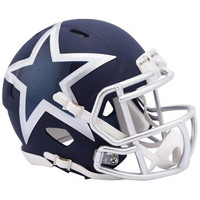 Dallas Cowboys Riddell AMP Alternate Revolution Speed Mini Football Helmet