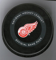 Tomas Holmstrom Autographed Detroit Red Wings Game Puck (Pre-Order)