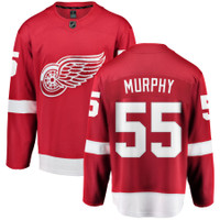 Larry Murphy Autographed Detroit Red Wings Home Fanatics Jersey (Pre-Order)