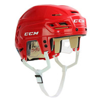 Tomas Holmstrom Autographed CCM Tacks 110 Full Size Hockey Helmet - Red (Pre-Order)