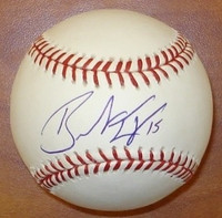 Brandon Inge Autographed Baseball - Official Major League Ball (Pre-Order)