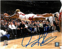 Dennis Rodman Autographed Chicago Bulls 8x10 Photo #1