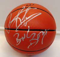"Dennis Rodman Autographed Indoor/Outdoor Basketball w/""Bad Boys"" Inscription"