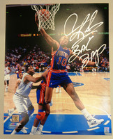 "Dennis Rodman Autographed Detroit Pistons 16x20 Photo w/""Bad Boys"" Inscription"