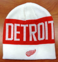 Detroit Red Wings Adidas Uncuffed Knit Hat
