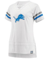 Detroit Lions Women's Fanatics Draft Me T-Shirt - White