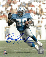 Barry Sanders Autographed Detroit Lions 8x10 Photo #6 - Solo Running