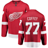 Paul Coffey Autographed Fanatics Detroit Red Wings Jersey - Red (Pre-Order)