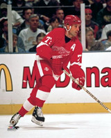 Paul Coffey Autographed Detroit Red Wings 8x10 #1 (Pre-Order)