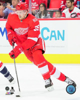 Anthony Mantha Autographed Detroit Red Wings 8x10 #1 - Action Home (Pre-Order)