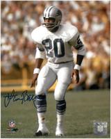 Lem Barney Autographed Detroit Lions 8x10 Photo #3