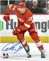 Christoffer Ehn Autographed Detroit Red Wings 8x10 Photo #1