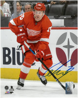 Christoffer Ehn Autographed Detroit Red Wings 8x10 Photo #2