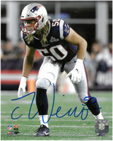 Chase Winovich Autographed New England Patriots 8x10 Photo #1