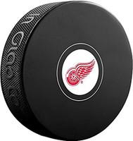 Brett Hull Autographed Detroit Red Wings Souvenir Puck (Pre-Order)
