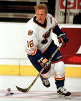 Brett Hull Autographed 8x10 Photo #3 - Blues Action (Pre-Order)