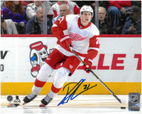 Dennis Cholowski Autographed Detroit Red Wings 8x10 Photo #3