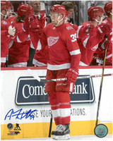 Anthony Mantha Autographed Detroit Red Wings 8x10 Photo #7