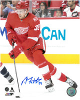 Anthony Mantha Autographed Detroit Red Wings 8x10 Photo #8